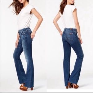 7 for All Mankind Kimmie Bootcut Jeans NWOT